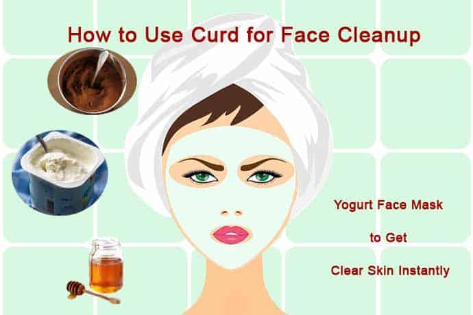 Benefits Of Applying Curd On Face