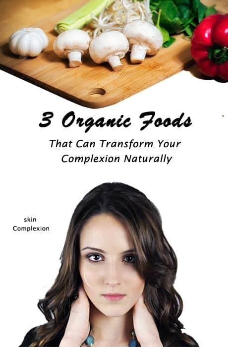 Food for fair skin complexion