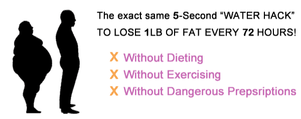 Five second weight loss hack tips